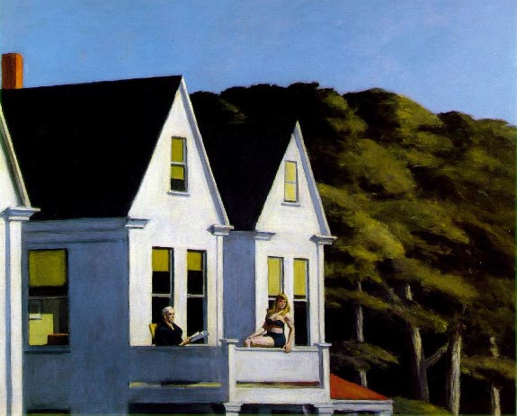 Second Story Sunlight - Edward Hopper
