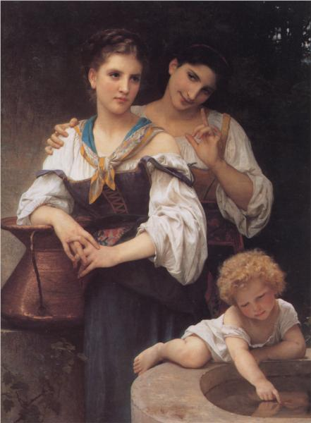 Secret - William Adolphe Bouguereau