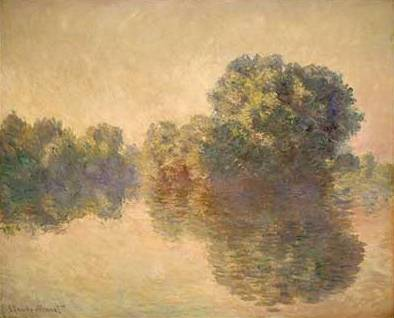 Seine at Giverny - Claude Monet