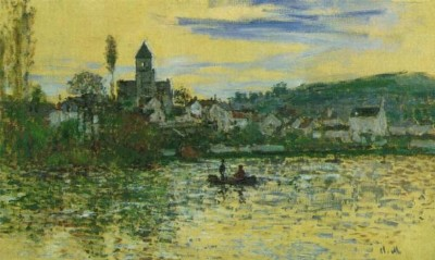 Seine at Vetheuil - Claude Monet