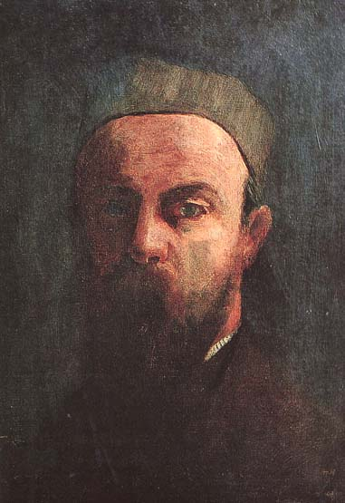 Self Portrait - Odilon Redon