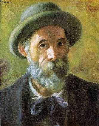 Self Portrait - Pierre Auguste Renoir