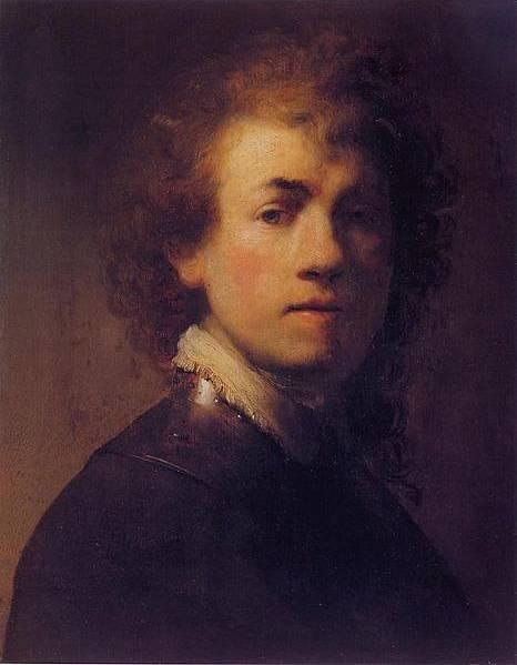 Rembrandt Van Rijn Self Portrait 1629 Rembrandt van Rijn Gal...