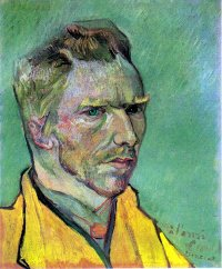 Self Portrait to Charles Laval - Vincent van Gogh
