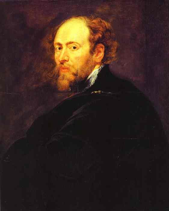 Self Portrait without a Hat - Peter Paul Rubens