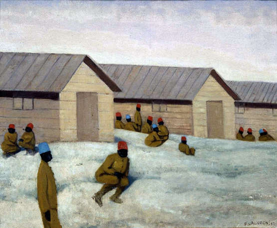 Senegalese Soldiers at the Camp of Mailly - Felix Vallotton
