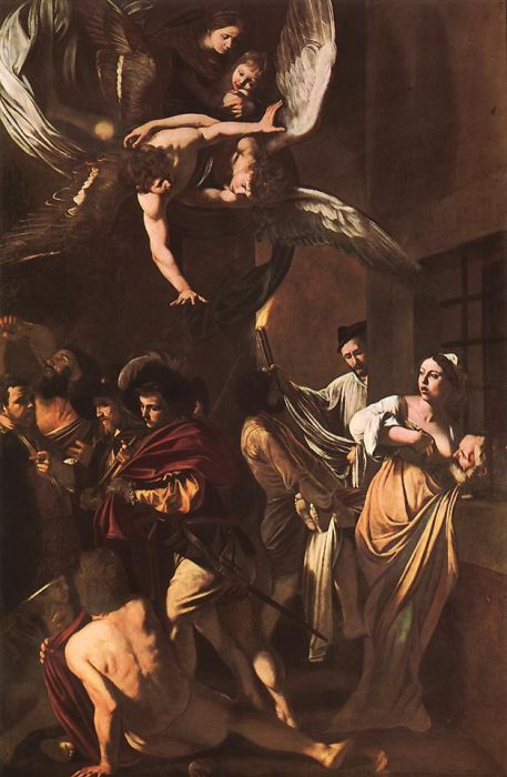 Seven Works of Mercy - Michelangelo Merisi da Caravaggio