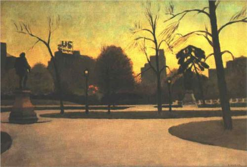 Shakespeare at Dusk - Edward Hopper