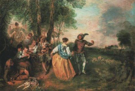Jean Antoine Watteau A Pilgrimage To Cythera