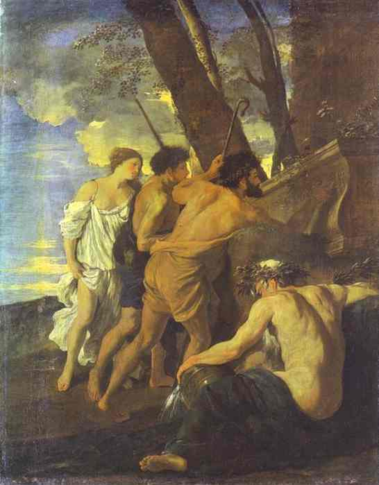 Shepherds of Arcadia - Nicolas Poussin