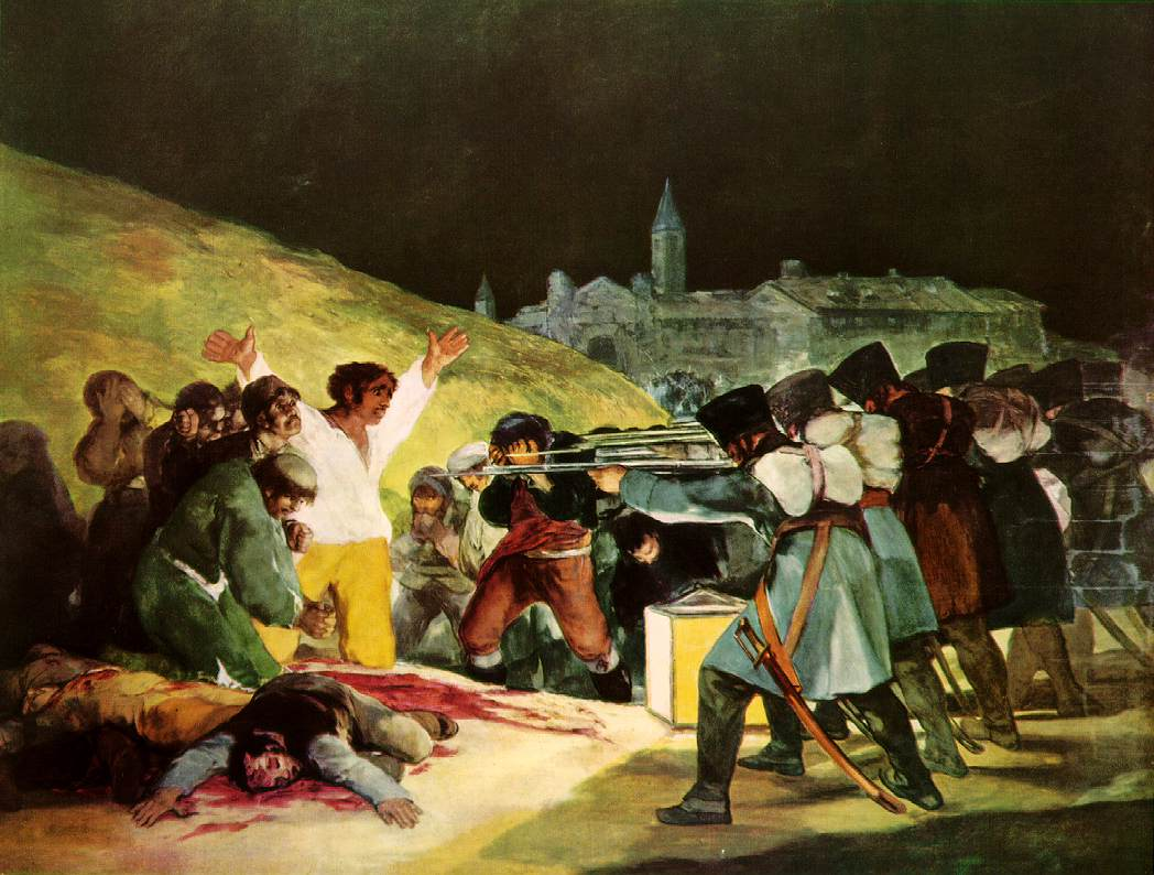 Shootings on Third of May 1808 - Francisco de Goya