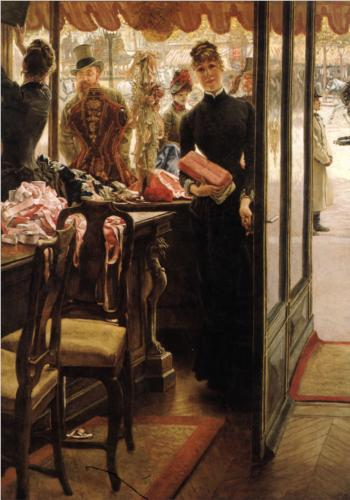 Shop Girl - James Tissot