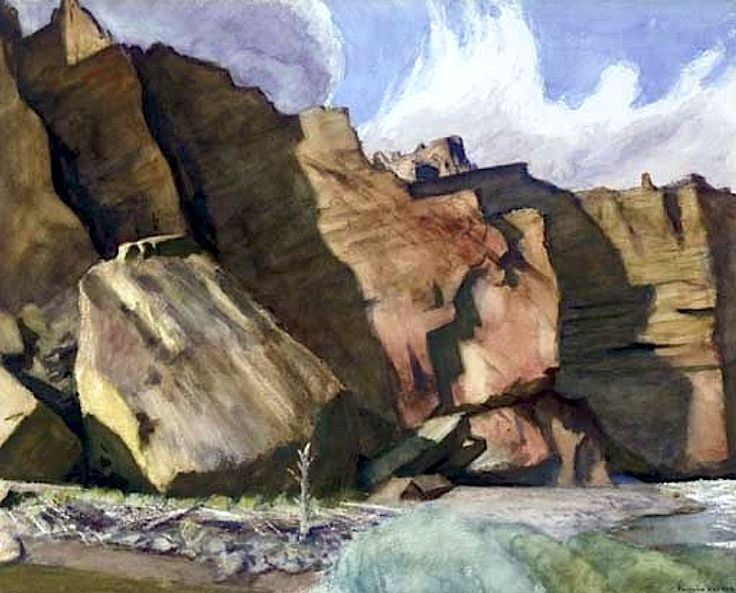 Shoshone Cliffs - Edward Hopper