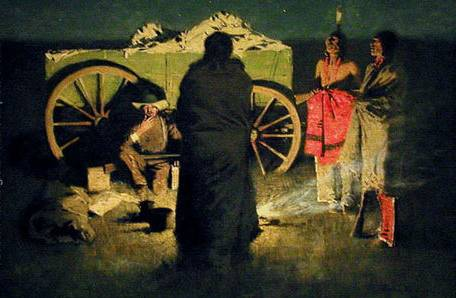 Shotgun Hospitality - Frederic Remington