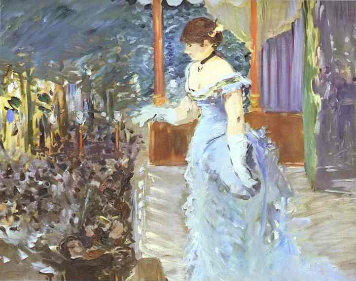 Singer at a Cafe Concert - Edouard Manet