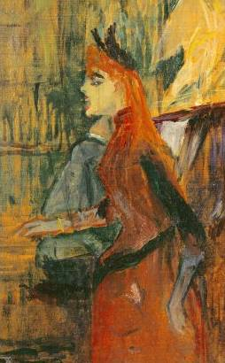 Singing Lesson - Henri de Toulouse Lautrec