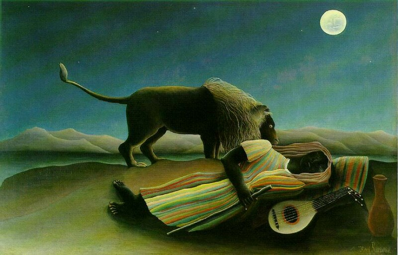 Sleeping Gypsy - Henri Rousseau