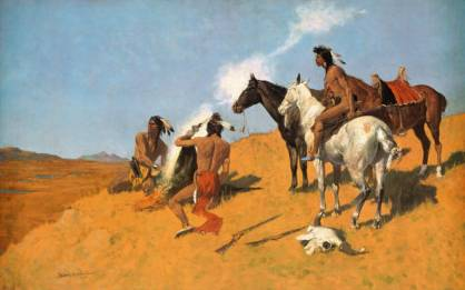Smoke Signal - Frederic Remington