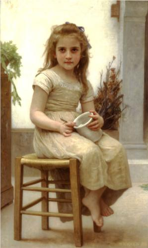 The Snack - William Adolphe Bouguereau