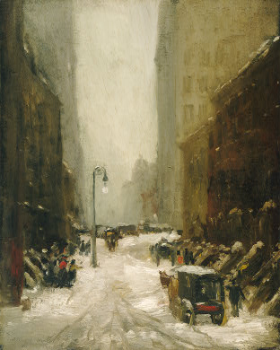 Snow in New York - Robert Henri
