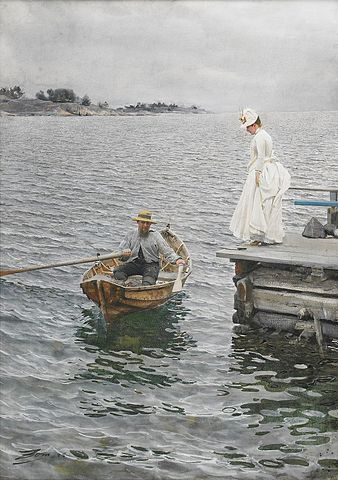 Sommarnoje (Summer Entertainment) - Anders Zorn