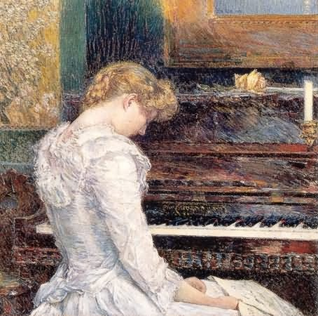 The Sonata - Childe Hassam