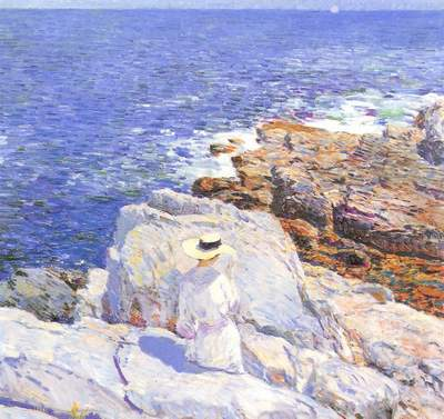 The South Ledges at Appledore - Childe Hassam