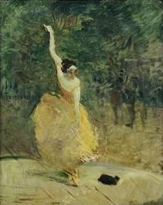 Spanish Dancer - Henri de Toulouse Lautrec