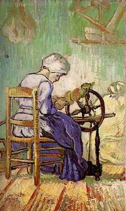 The Spinner - Vincent van Gogh