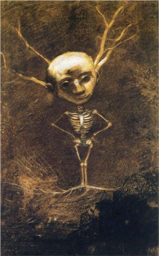Spirit of the Forest - Odilon Redon