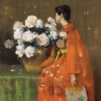 Spring Flowers - William Merritt Chase