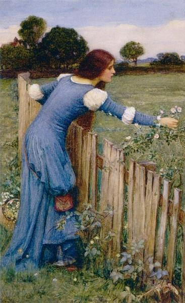 Spring (The Flower Picker) - John William Waterhouse