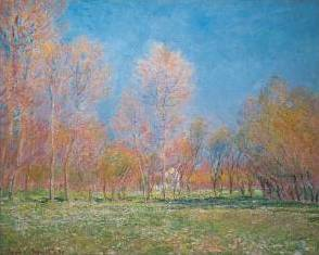 Spring at Giverny - Claude Monet