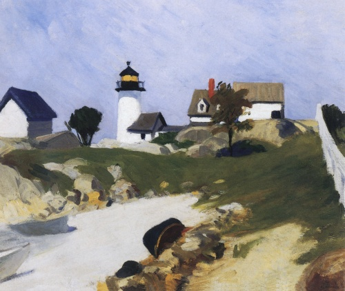 Squam Light - Edward Hopper