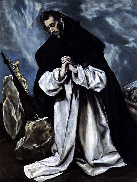 St Dominic in Prayer - El Greco