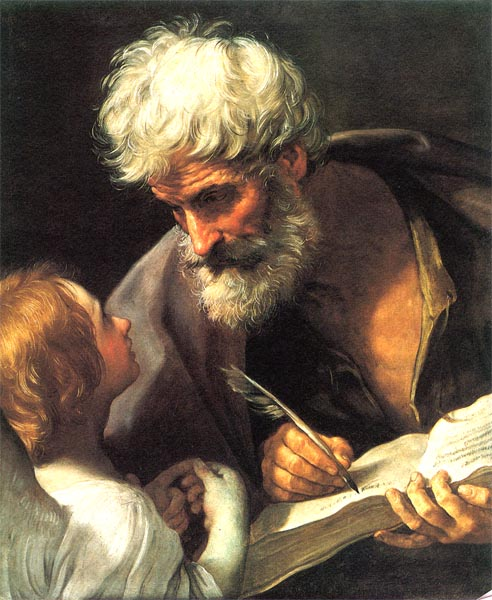 St Matthew and the Angel - Guido Reni