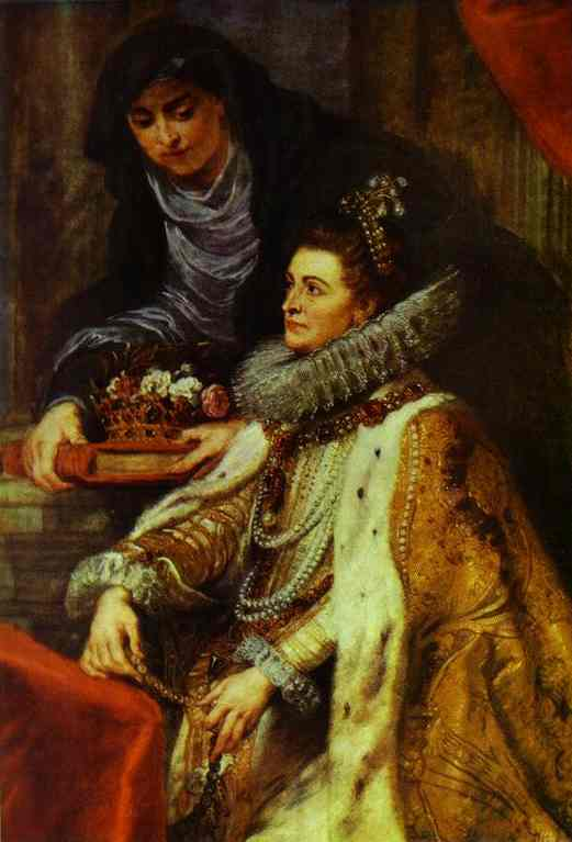 St. Ildefonso Altar Archduchess Isabella - Peter Paul Rubens