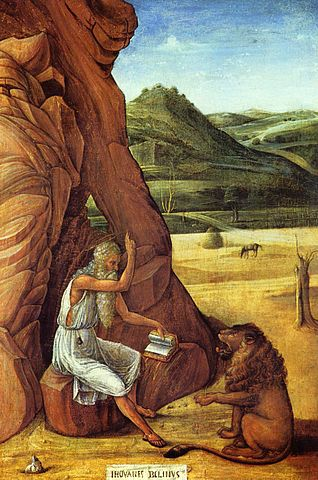 St. Jerome in the Desert - Giovanni Bellini