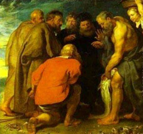 St. Peter Finding the Tribute Money - Peter Paul Rubens