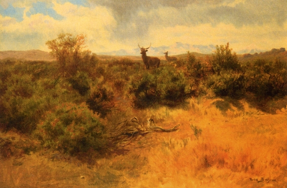 Stag and Doe - Rosa Bonheur