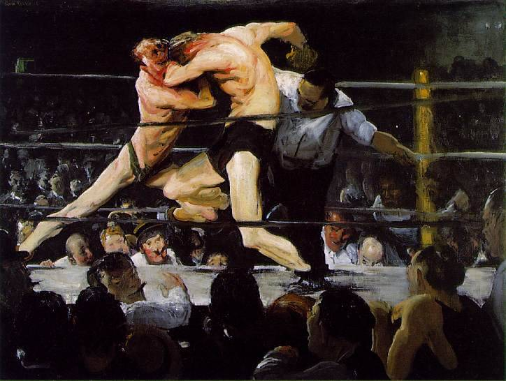 Stag at Sharkeys - George Bellows