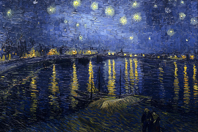 Starry Night over Rhone - Vincent van Gogh