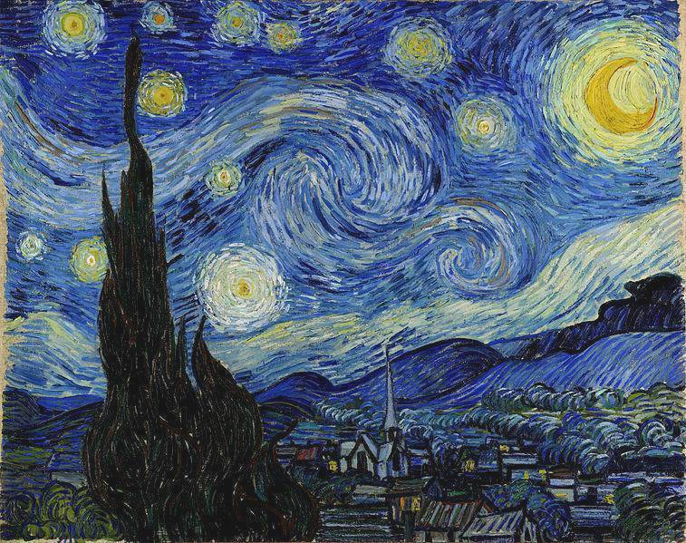 Starry Night over St Remy - Vincent van Gogh