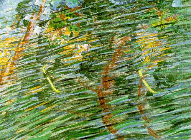 States of Mind II: Those Who Leave - Umberto Boccioni