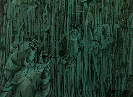 States of Mind III: Those Who Stay - Umberto Boccioni