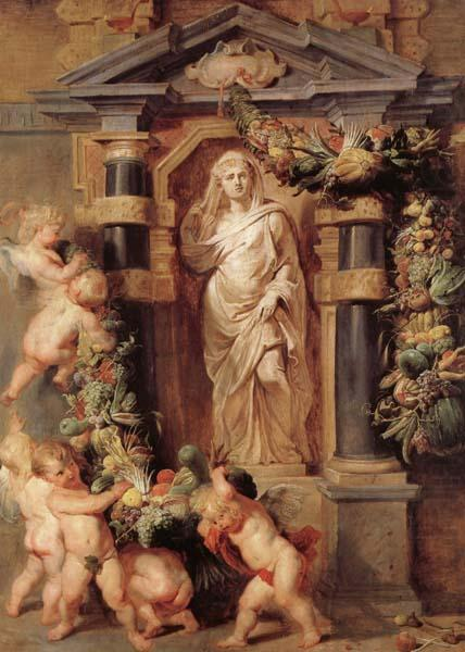 Statue of Ceres - Peter Paul Rubens