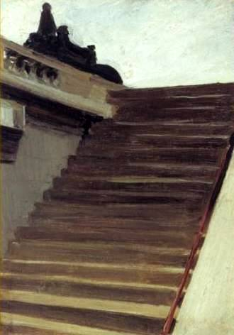 Steps in Paris - Edward Hopper