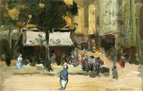 Street Corner in Paris - Robert Henri