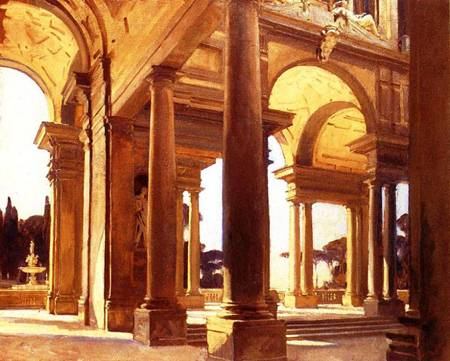 Study of Architecture, Florence - John Singer Sargent
