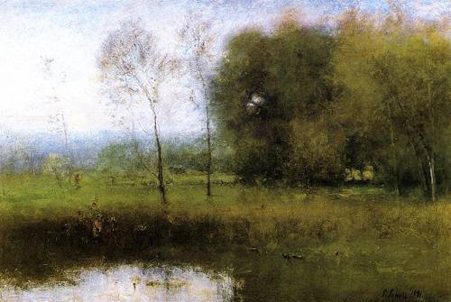 Summer Montclair (New Jersey Landscape) - George Inness